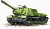 ISU-152 Soviet Self-propelled Gun. gab. 15.00 €