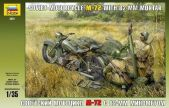 Soviet Motorcycle M-72 with Mortar. gab. 10.00 €