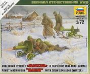 Soviet Machine Gun w/Crew winter uniform. gab. 3.00 €